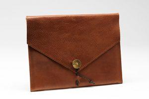Tablet iPad Cover I organisk forarbejdet læder