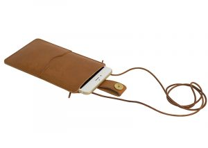 IPhone cover læder