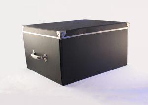 Opbevaringsboks i genbrugspap - X-large