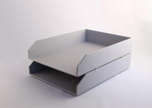 Bæredygtig brevbakke i genbrugspapir