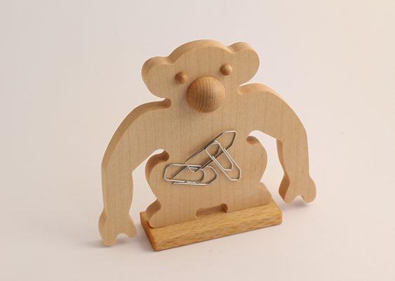 Magnetisk clipsholder I olieret ahorn og bøgetræ