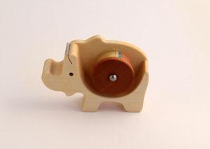 Tape dispenser Rhino I bæredygtig olieret ahorn og pæretræ