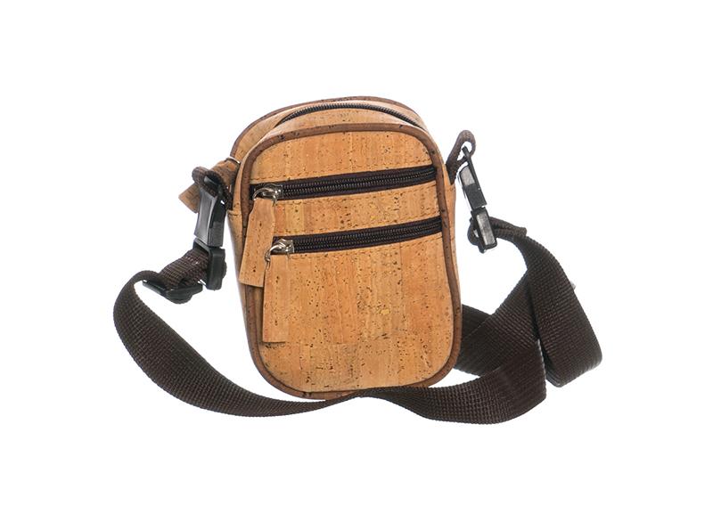 skulder taske brun læder
