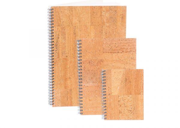 Notesbog i bæredygtigt kork