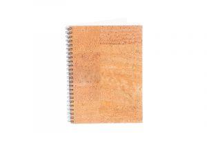 A5 notesbog i bæredygtigt kork
