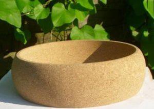 Bæredygtig skål i kork