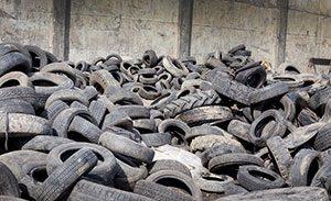 Genbrugsgummi er et yderst bæredygtigt materiale