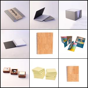 Papir og blokke