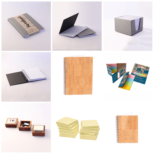 Paper and blocks