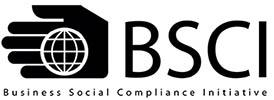 Business Social Compliance Initiative (BSCI) er et førende supply chain management system til sikring af arbejdsforhold og sociale forhold i virksomhederne. Klik på logoet for yderligere info.