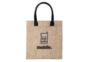 Bæredygtig bærepose i jute
