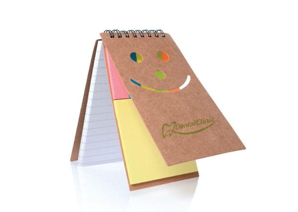Bæredygtig notesbog i genbrugspapir