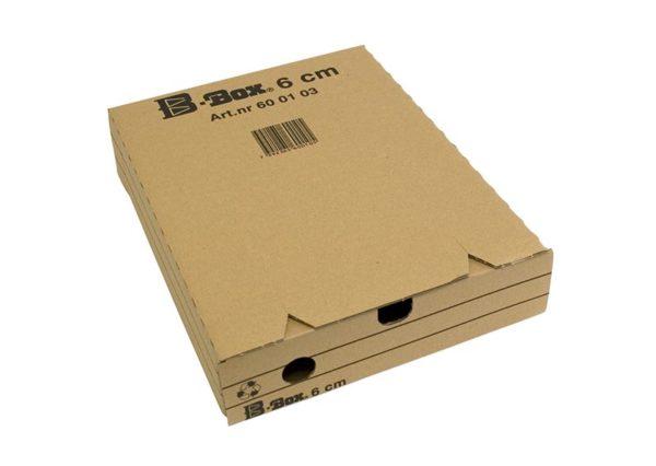 Bæredygtig recycled arkivboks 100% genbrugspapir