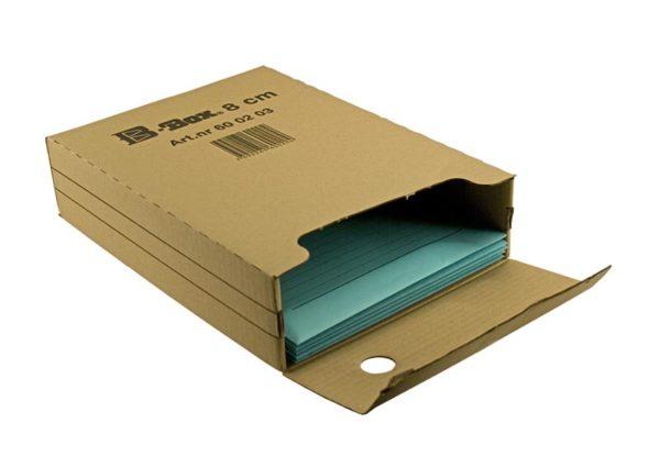 Bæredygtig arkivboks recycled 100% genbrugspapir