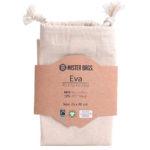 Bomuldspose i bæredygtigt gots og fair trade certificeret økologisk bomuld
