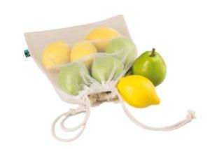 Bomuldspose i bæredygtigt fair trade certificeret økologisk bomuld