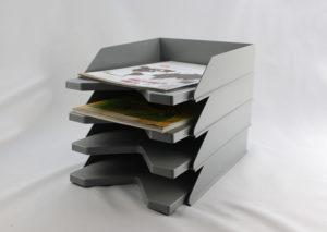 Bæredygtig brevbakke i genbrugsplast