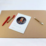 Bæredygtigt skriveunderlag - natur