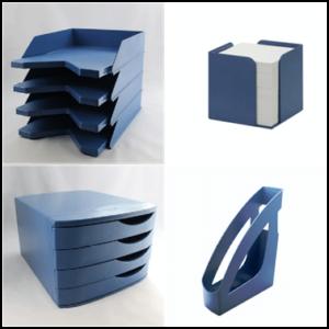 genbrugsplast blå