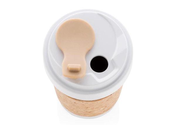 Drikkekrus i bæredygtigt PLA og kork