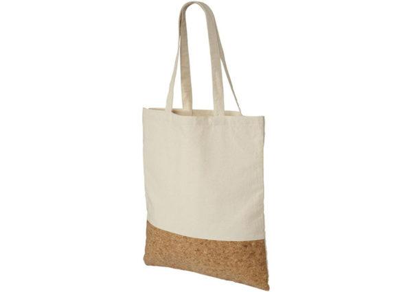 Mulepose i bomuld med kork