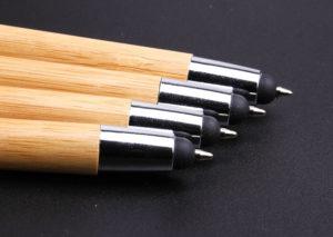 Bæredygtig touchpen/kuglepen i bambus