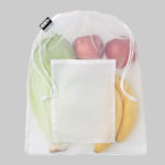 Sustainable vegetable bag made from recycled plastic