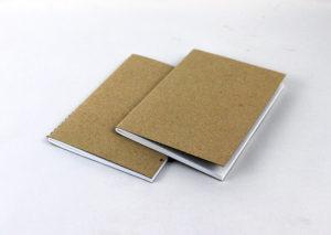 Bæredygtig notesbog A6 i natur