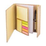 Bæredygtig notesblok med korkomslag og pen