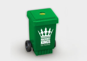 Sustainable pencil sharpener made from recycled plastic