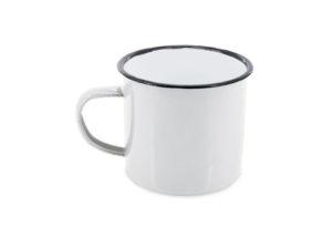Sustainable iron/enamel mug
