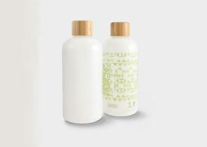 Bæredygtig vandflaske i pla
