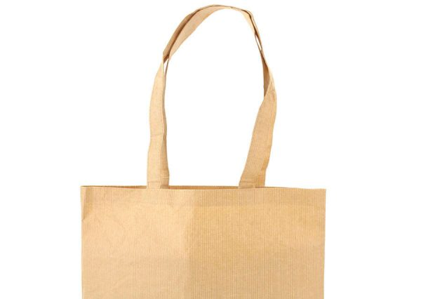 Sustainable paper and cotton bag