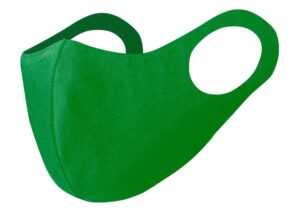 Environmentally friendly recyclable polyester face mask