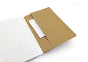 Sustainable notebook A5 nature recycled