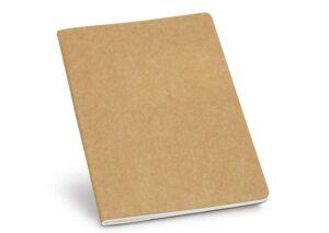 Bæredygtig notesbog A5 natur recycled