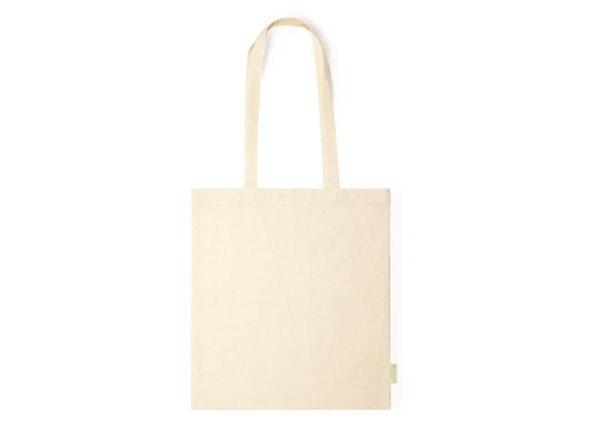 Climate-friendly organic cotton tote bag