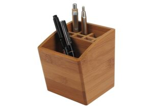 Sustainable Bamboo pen holder XL