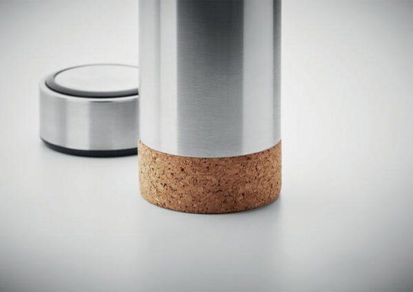 Luksus termoflaske i bæredygtigt stål og kork 450ml