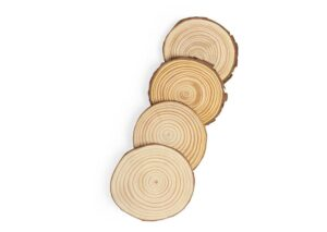 Coaster made from environmentally friendly pine 100% biodegradable