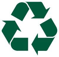 Fremstillet af genbrugsmaterialer