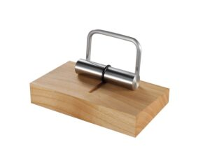 Sustainable business card holder made from European cherry wood