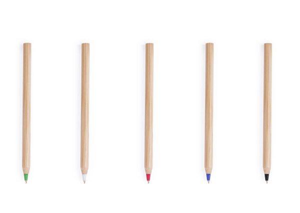 Billig og miljøvenlig kuglepen i bambus