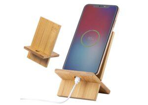 Miljøvenlig mobilholder i bambus