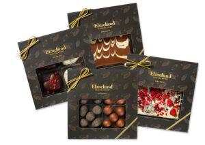 Økologiske chokoladegaveæsker Økoladen