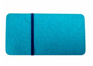 Laptop sleeve i bæredygtigt merino uld