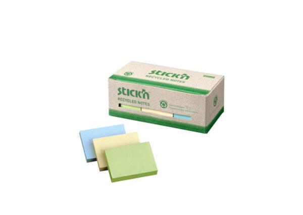 Kasse-med-12-blokke-genbrugs-Sticky-Notes